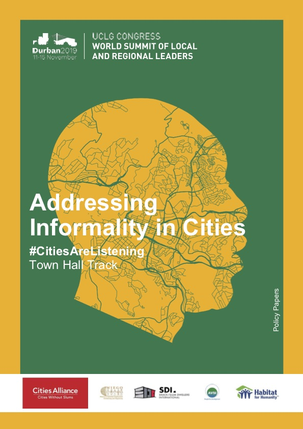 Addressing Informality in Cities